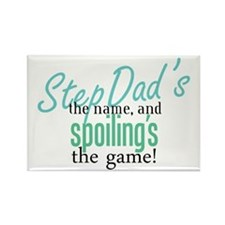 StepDad's the Name! Rectangle Magnet