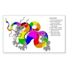 Dragon Rainbow Decal