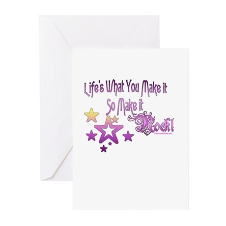 Life's What You make it Greeting Cards (Pk of 10)