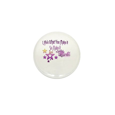 Life's What You make it Mini Button (100 pack)
