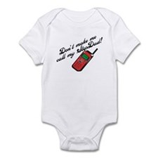 Don't Make Me Call StepDad! Infant Bodysuit