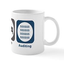 Eat Sleep Auditing Small Mug