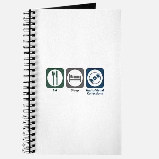 Eat Sleep Audio-Visual Collections Journal
