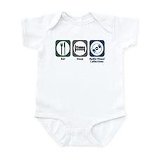 Eat Sleep Audio-Visual Collections Infant Bodysuit