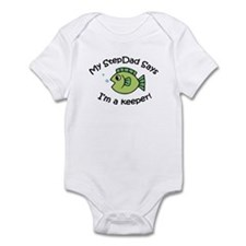 My StepDad Says I'm a Keeper! Infant Bodysuit