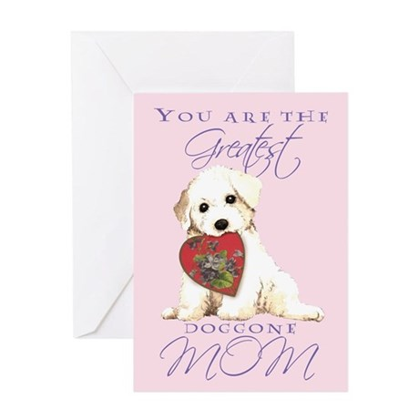 Bichon Mother's Day Greeting Card