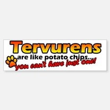 Potato Chips Tervuren Bumper Bumper Bumper Sticker