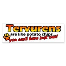Potato Chips Tervuren Bumper Bumper Sticker