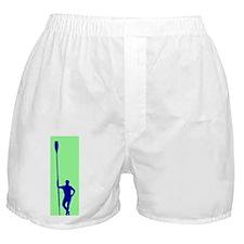READY TO ROW GREEN BLUE Boxer Shorts