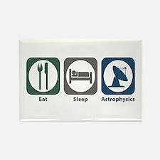 Eat Sleep Astrophysics Rectangle Magnet (100 pack)