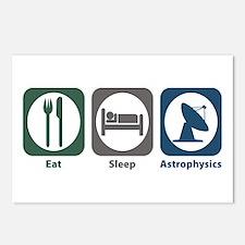Eat Sleep Astrophysics Postcards (Package of 8)