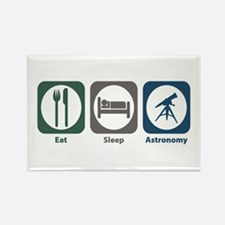 Eat Sleep Astronomy Rectangle Magnet