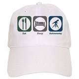 Eat, sleep astronomy Classic Cap