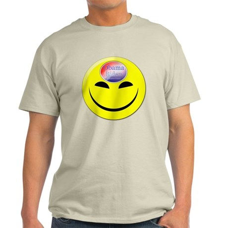Obama Biden A Brighter Future Smiley Light T-Shirt