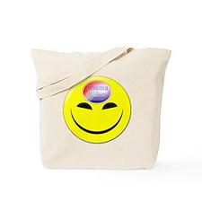Obama Biden A Brighter Future Smiley Tote Bag