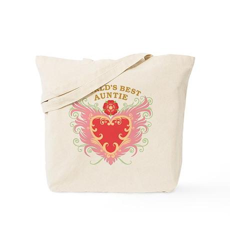 World's Best Auntie Tote Bag