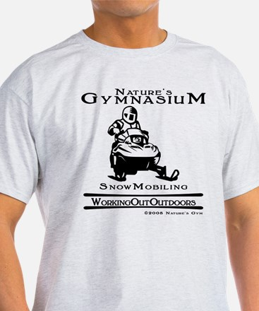 Nature's Gym Snowmobiling T-Shirt