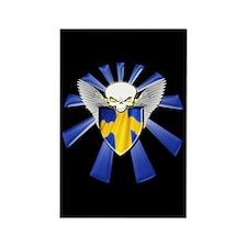 Swedish Defender Rectangle Magnet