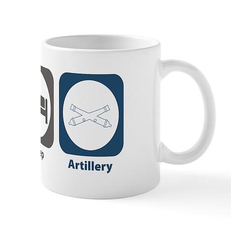 Eat Sleep Artillery Mug