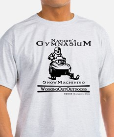 Nature's Gym Snowmachining T-Shirt