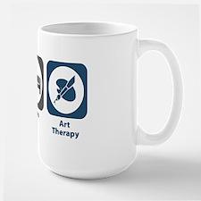 Eat Sleep Art Therapy Mug