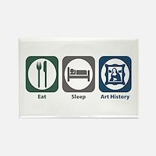 Eat Sleep Art History Rectangle Magnet