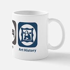 Eat Sleep Art History Mug