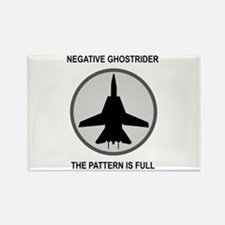 Negative Ghostrider The Patte Rectangle Magnet