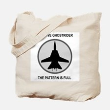 Negative Ghostrider The Patte Tote Bag