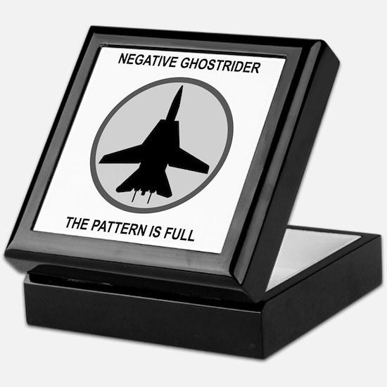 Negative Ghostrider The Patte Keepsake Box