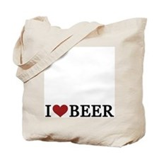 I (Heart) Beer Tote Bag