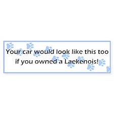 Your Car Laekenois Bumper Bumper Sticker