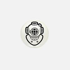 Diving Helmet Mini Button