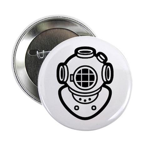 """Diving Helmet 2.25"""" Button"""