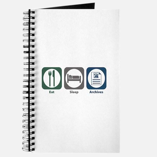 Eat Sleep Archives Journal