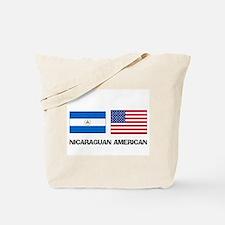 Nicaraguan American Tote Bag
