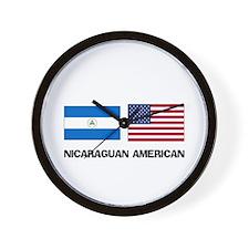 Nicaraguan American Wall Clock