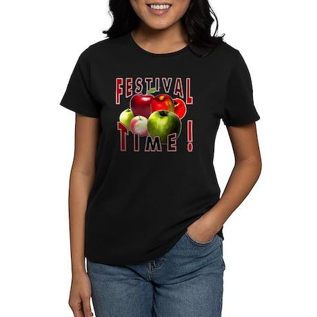 Apple Festival Time ! Women's Dark T-Shirt