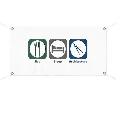 Eat Sleep Architecture Banner