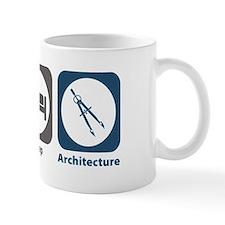 Eat Sleep Architecture Small Mugs