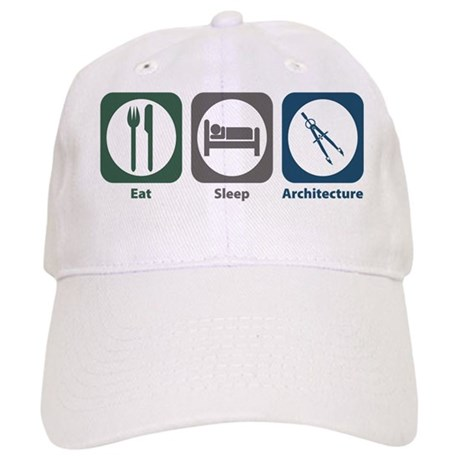Eat Sleep Architecture Cap