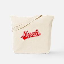 Retro Nyah (Red) Tote Bag