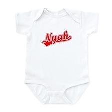 Retro Nyah (Red) Infant Bodysuit