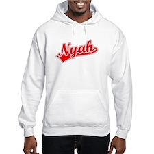 Retro Nyah (Red) Hoodie Sweatshirt