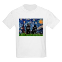 Starry / Schipperke Pair T-Shirt