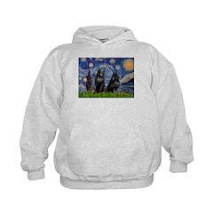 Starry / Schipperke Pair Hoodie