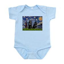 Starry / Schipperke Pair Infant Bodysuit