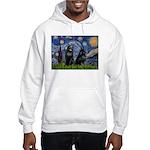 Starry / Schipperke Pair Hooded Sweatshirt