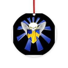 Swedish Defender Ornament (Round)