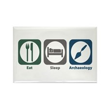 Eat Sleep Archaeology Rectangle Magnet (100 pack)